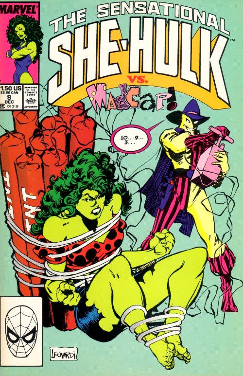 Couverture de Sensational She-Hulk (The) (1989) -9- Burn Out!