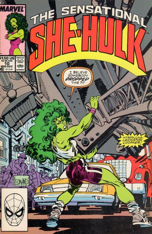 Couverture de Sensational She-Hulk (The) (1989) -10- Mass-Market Menace!