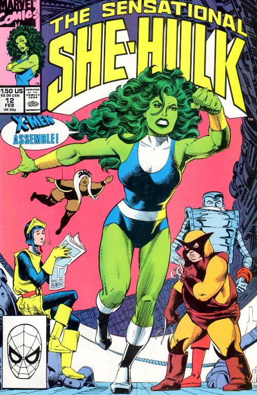 Couverture de Sensational She-Hulk (The) (1989) -12- She-Hulk The Movie
