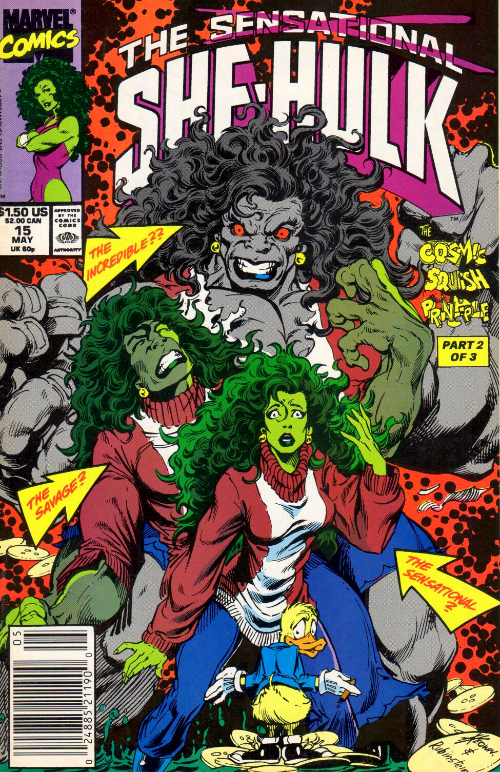 Couverture de Sensational She-Hulk (The) (1989) -15- Secret Warts