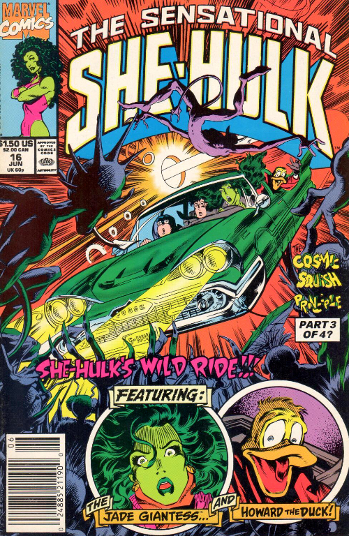 Couverture de Sensational She-Hulk (The) (1989) -16- The Lowbrow Hunters