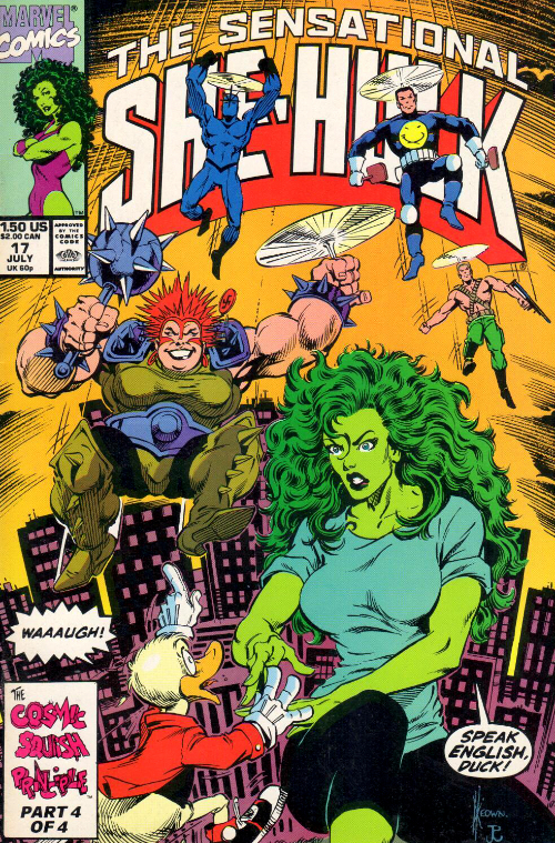 Couverture de Sensational She-Hulk (The) (1989) -17- Acts Of Peevishness!