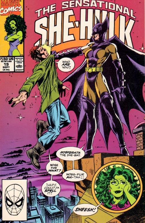 Couverture de Sensational She-Hulk (The) (1989) -19- Year Zero