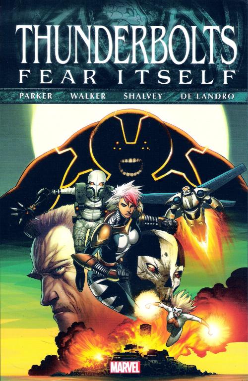Couverture de Thunderbolts Vol.1 (Marvel Comics - 1997) -INT10- Fear Itself