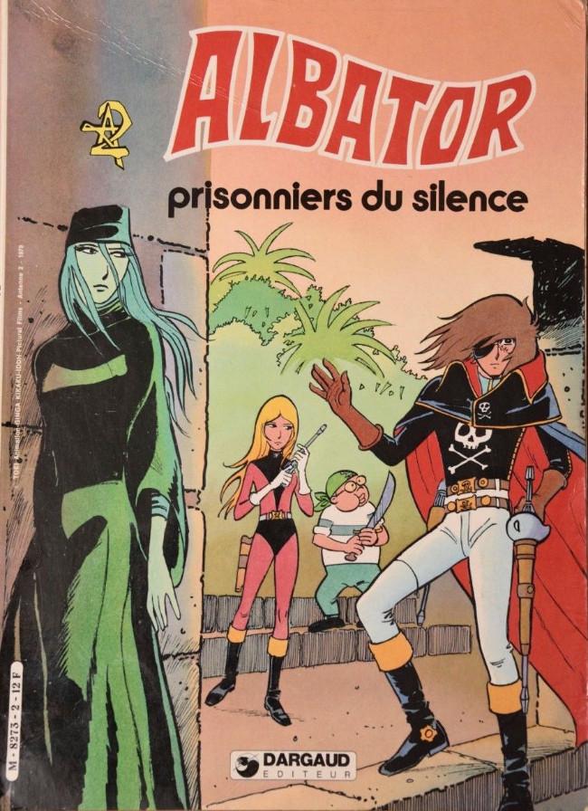 Couverture de Albator -2- Prisonniers du silence