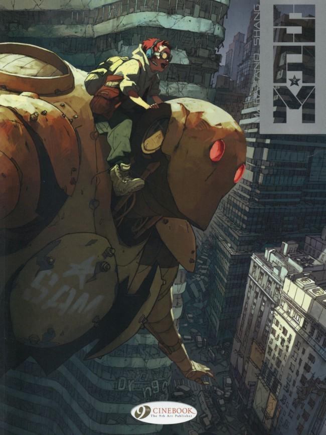 Couverture de S.A.M. (en anglais) -2- Robot hunters