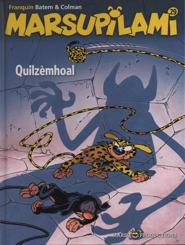 Couverture de Marsupilami -29- Quilzèmhoal