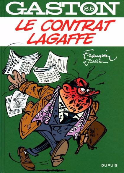 Couverture de Gaston (Sélection) -5- Le contrat Lagaffe