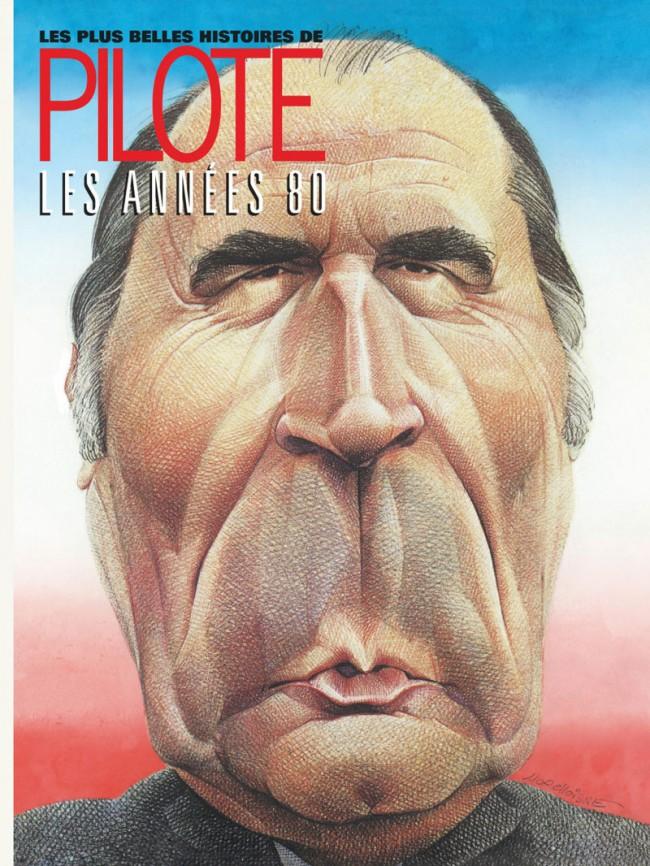 Couverture de Les plus belles histoires de Pilote -4- Années 80
