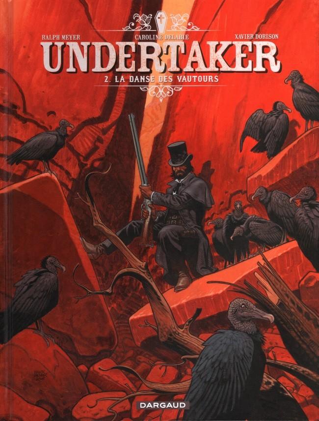 Couverture de Undertaker -2- La Danse des vautours