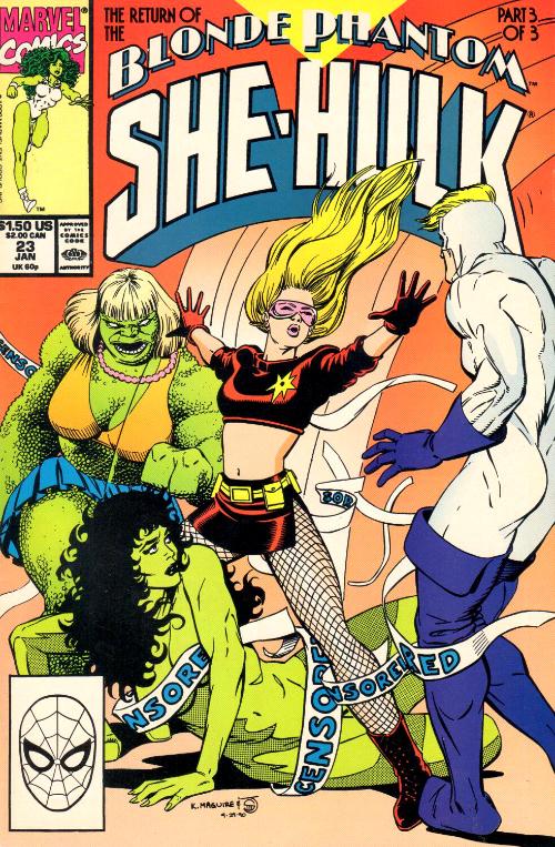 Couverture de Sensational She-Hulk (The) (1989) -23- Las Vegas Mon Amour