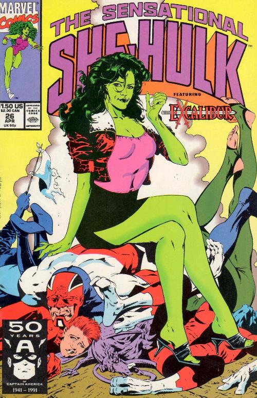 Couverture de Sensational She-Hulk (The) (1989) -26- Trash!