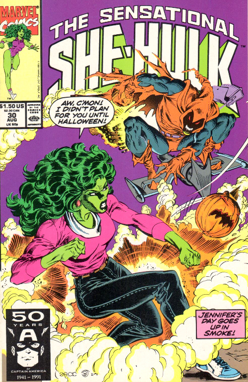 Couverture de Sensational She-Hulk (The) (1989) -30- A Change Of State