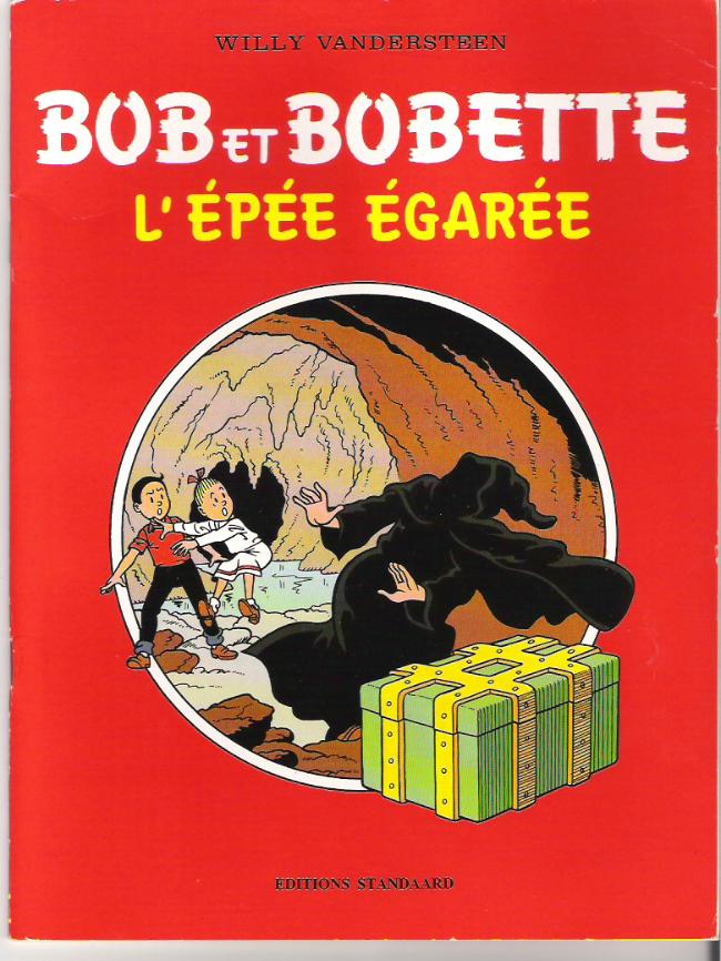 Couverture de Bob et Bobette (Publicitaire) -DB1- L'Épée égarée