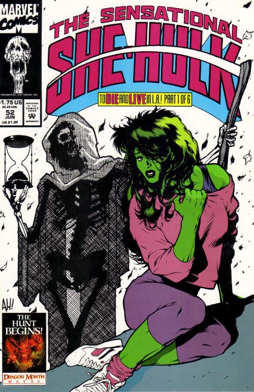 Couverture de Sensational She-Hulk (The) (1989) -52- Visit L.A. And Die!