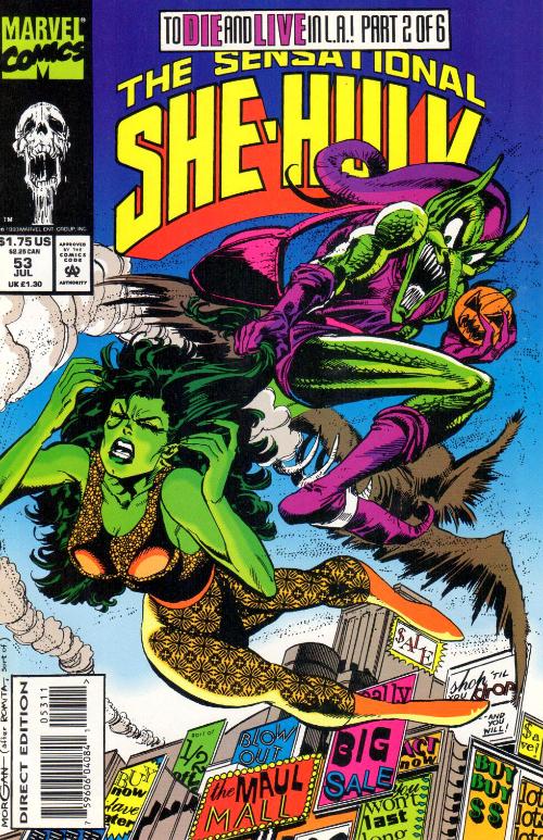 Couverture de Sensational She-Hulk (The) (1989) -53- Death Becomes Her