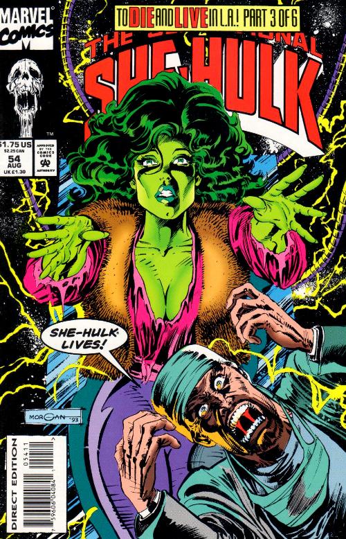 Couverture de Sensational She-Hulk (The) (1989) -54- Alive Again!