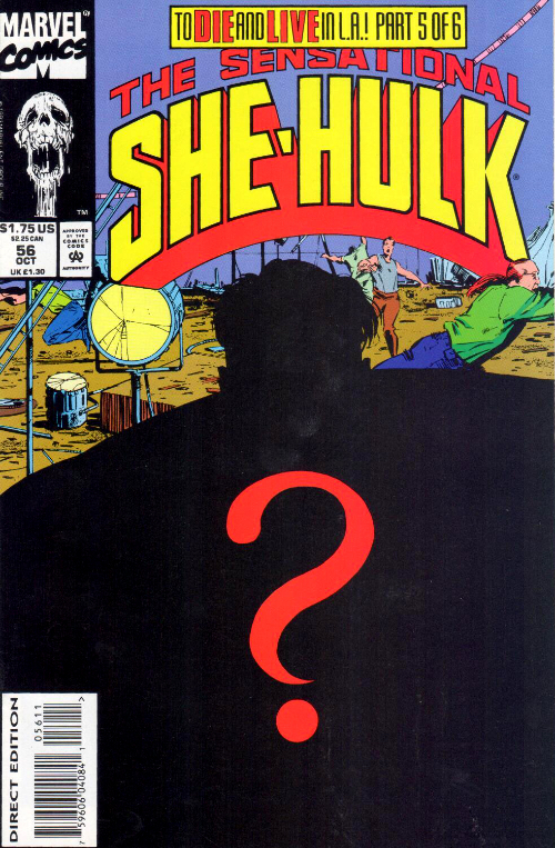 Couverture de Sensational She-Hulk (The) (1989) -56- The Edge Of Plight