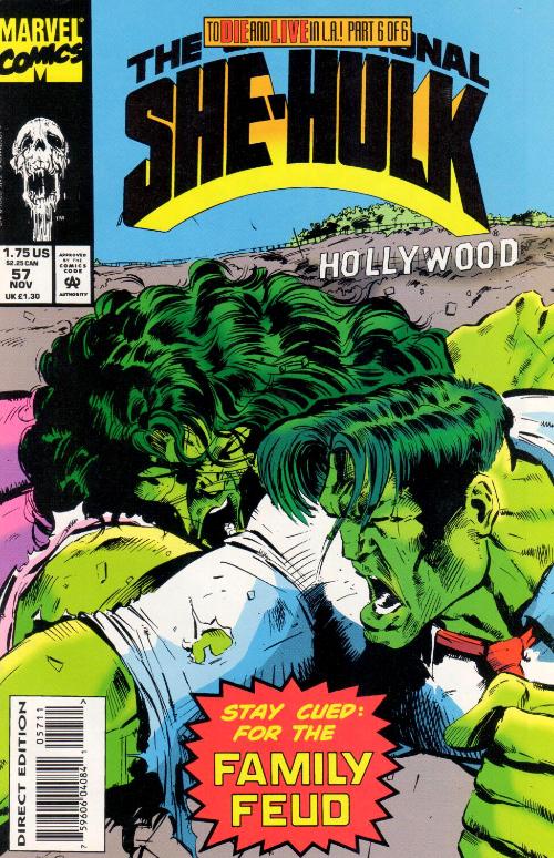 Couverture de Sensational She-Hulk (The) (1989) -57- Family Business