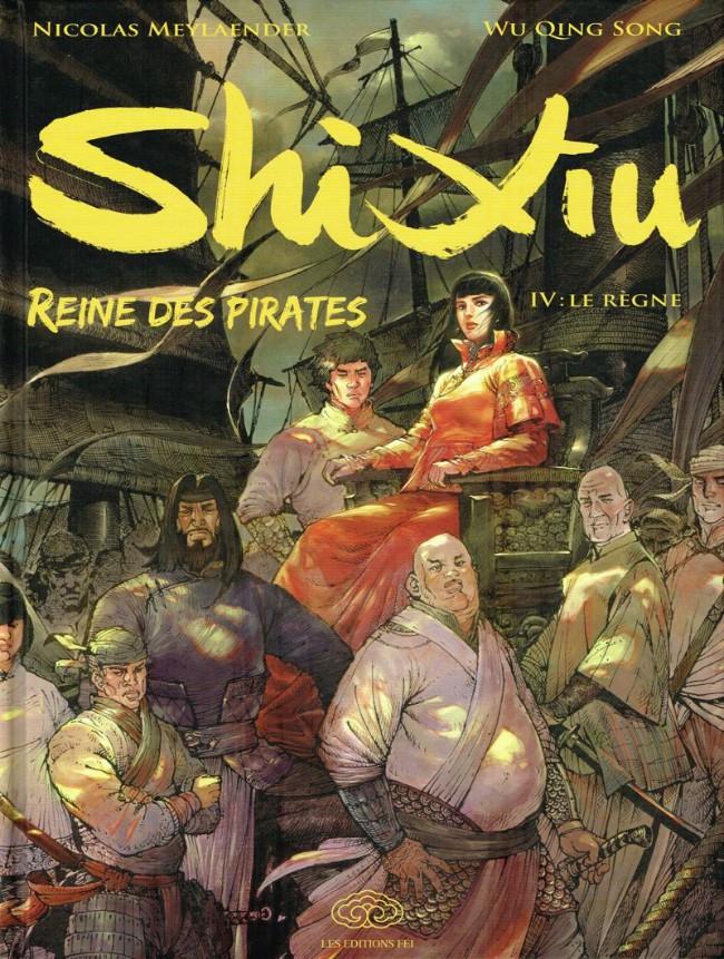 Shi Xiu Reine des pirates Intégrale 4 tomes