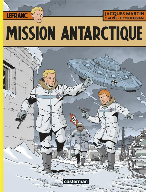 Couverture de Lefranc -26- Mission Antarctique
