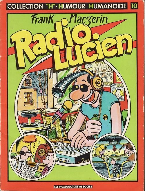 Couverture de Lucien -1- Radio Lucien