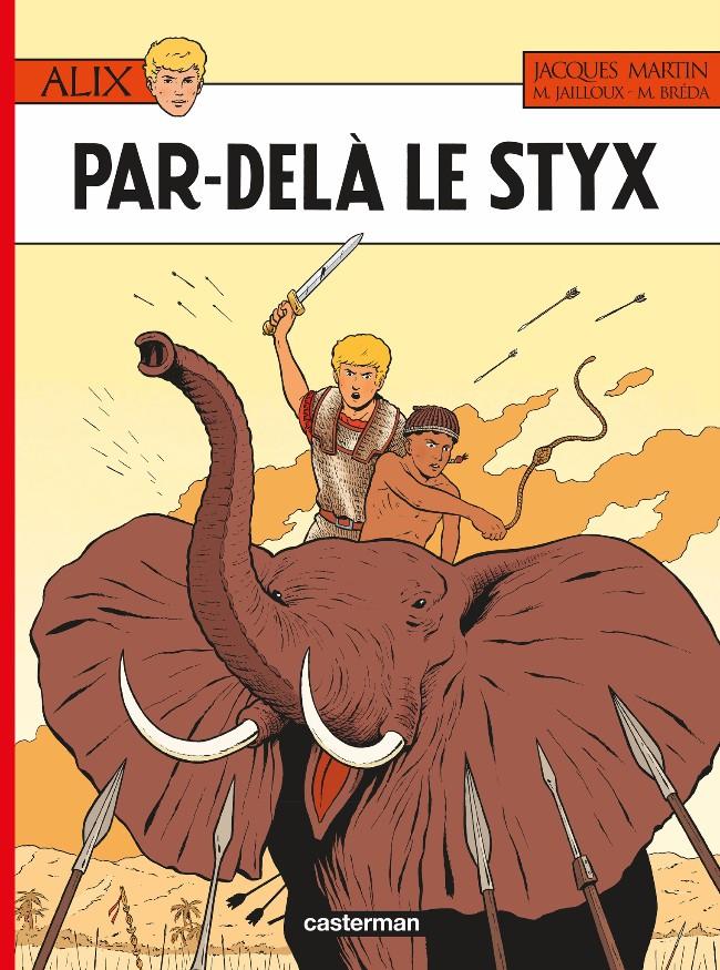 Couverture de Alix -34- Par-delà le Styx