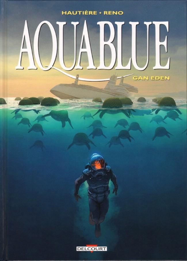 Couverture de Aquablue -15- Gan Eden