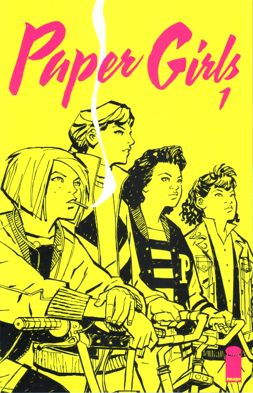 Couverture de Paper Girls (Image comics - 2015) -1- Paper Girls