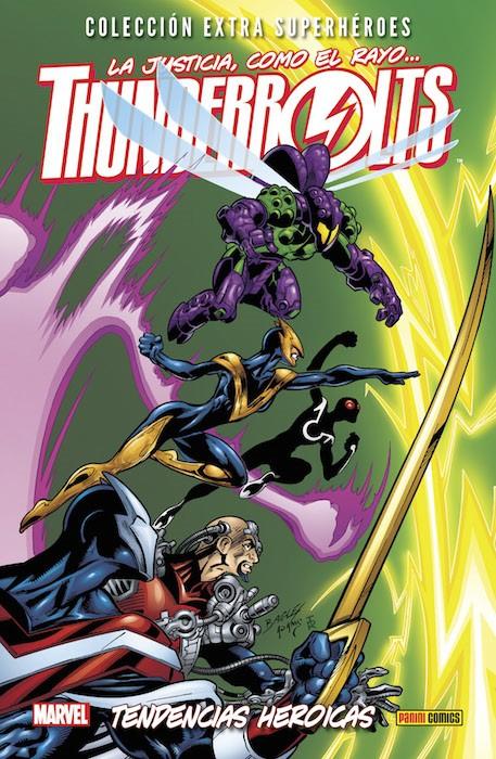 Couverture de Colección Extra Superhéroes - Thunderbolts -4- Tendencias heroicas