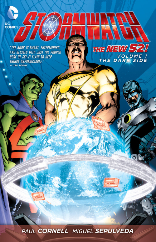 Couverture de Stormwatch (2011) -INT1- The Dark Side