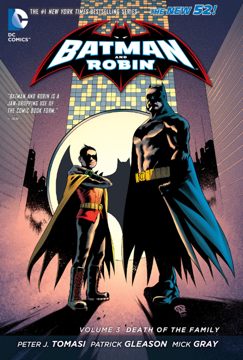 Couverture de Batman and Robin (2011) -INT03- Death of the family