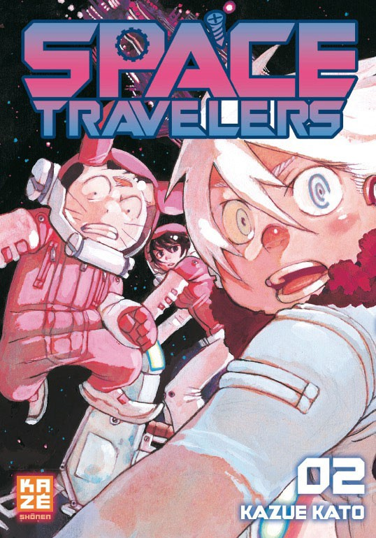 Couverture de Space Travelers -2- Tome 2