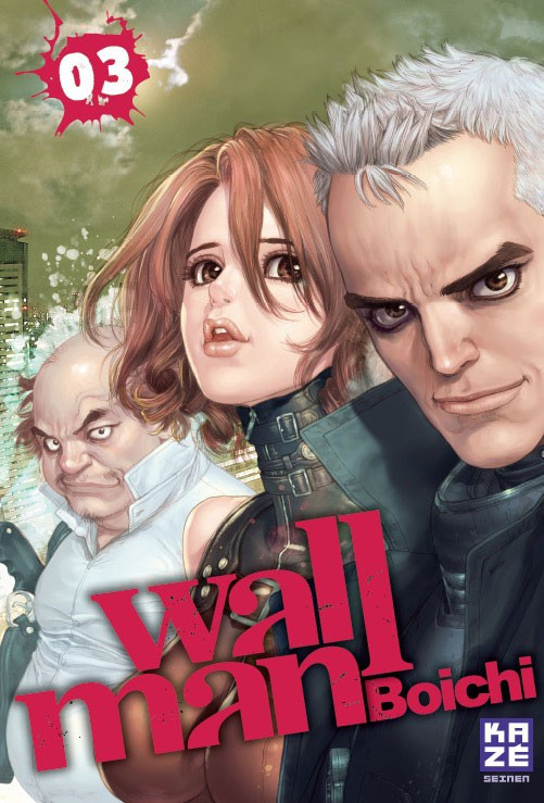 Couverture de Wallman -3- Tome 3