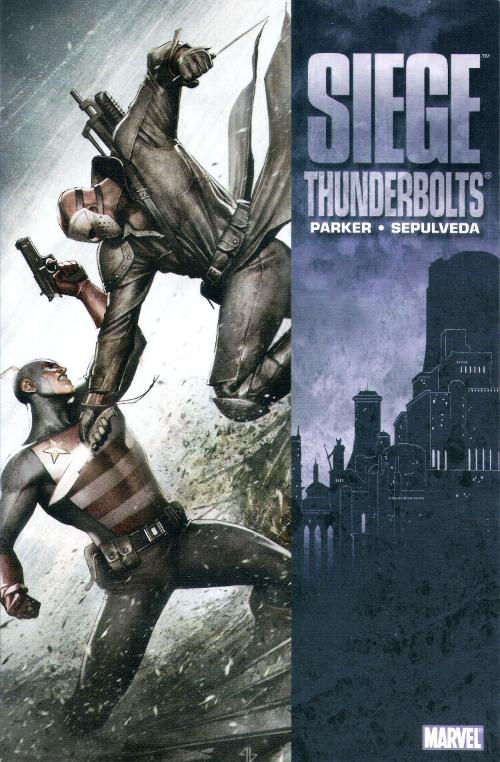 Couverture de Thunderbolts Vol.1 (Marvel Comics - 1997) -INT06a- Siege