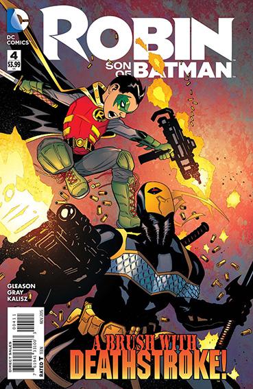 Couverture de Robin: Son of Batman (2015) -4- Year Of Blood - Part Four
