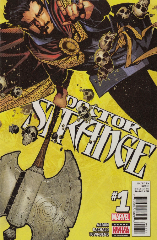 Couverture de Doctor Strange (2015) -1- The Way of the Weird