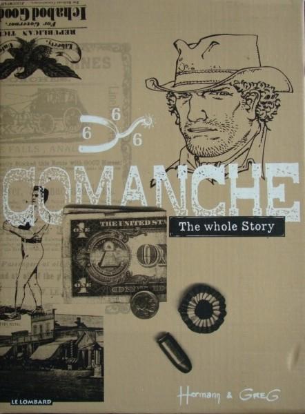 Couverture de Comanche -INT en Cof- The whole Story
