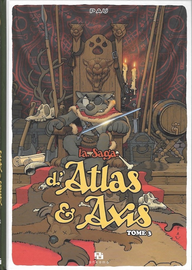 Couverture de La saga d'Atlas & Axis -3- Tome 3