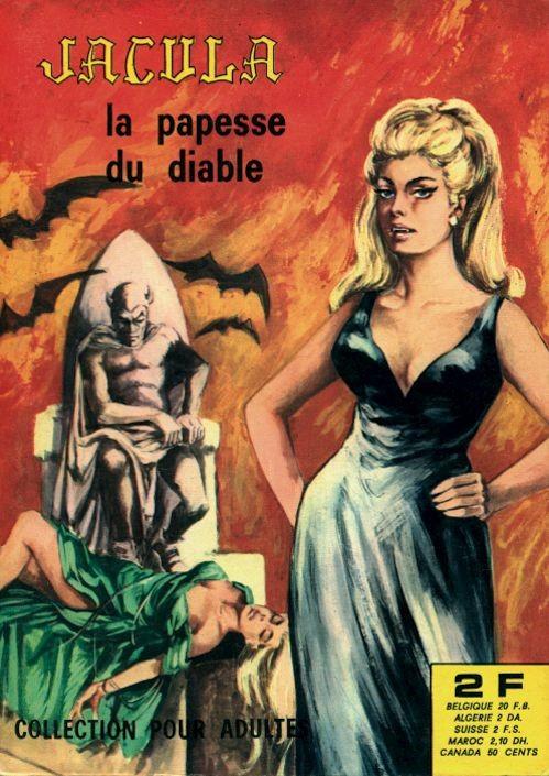 Couverture de Jacula -6- La papesse du diable