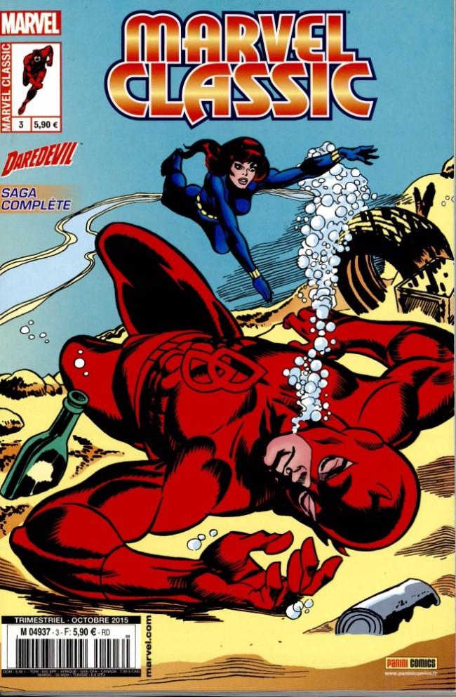 Couverture de Marvel Classic (2e série) -3- Et la mort a pour nom Widow