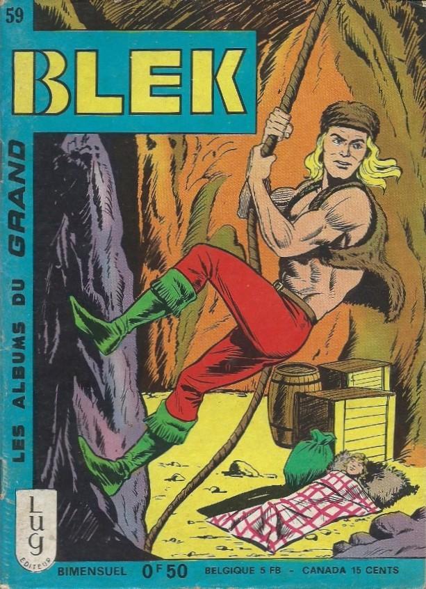 Couverture de Blek (Les albums du Grand) -59- Numéro 59