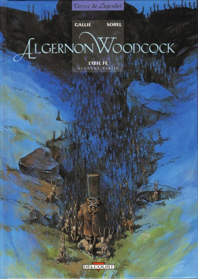 Couverture de Algernon Woodcock -2- L'œil Fé - seconde partie