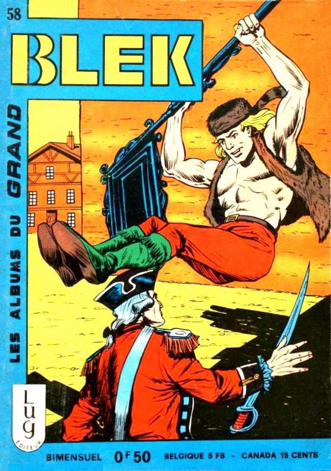 Couverture de Blek (Les albums du Grand) -58- Numéro 58