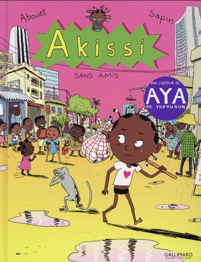 Couverture de Akissi -6- Sans amis