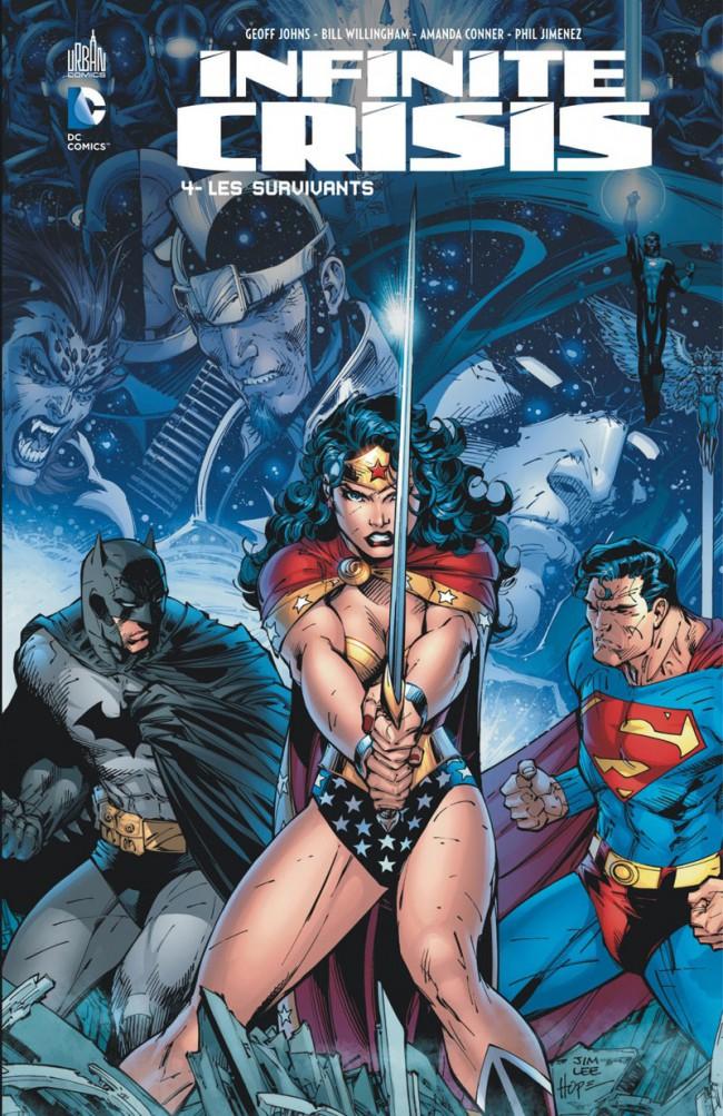 Couverture de Infinite Crisis (Urban Comics) -4- Les survivants