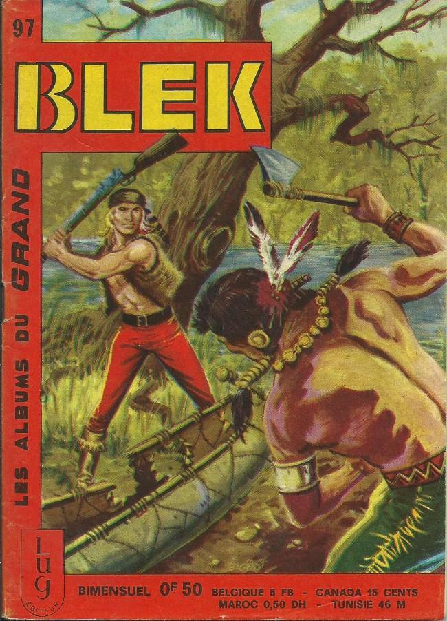 Couverture de Blek (Les albums du Grand) -97- Numéro 97