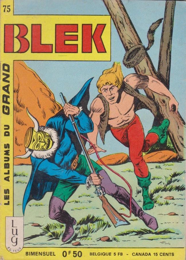 Couverture de Blek (Les albums du Grand) -75- Numéro 75