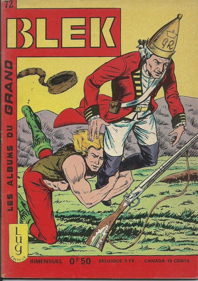 Couverture de Blek (Les albums du Grand) -72- Numéro 72