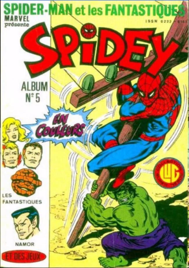Couverture de Spidey -Rec05- Album N°5 (du n°13 au n°15)
